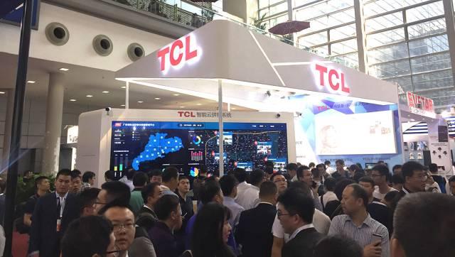企业 | TCL智能云拼接系统再次引爆安博会