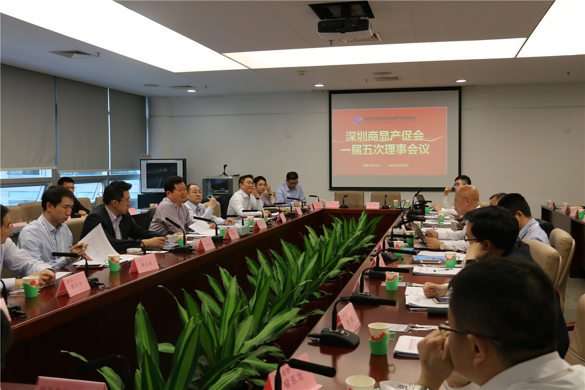 <b>深圳商显产促会华东分会、专家委员会在促进会一届五次理事会上审议通过、成立</b>