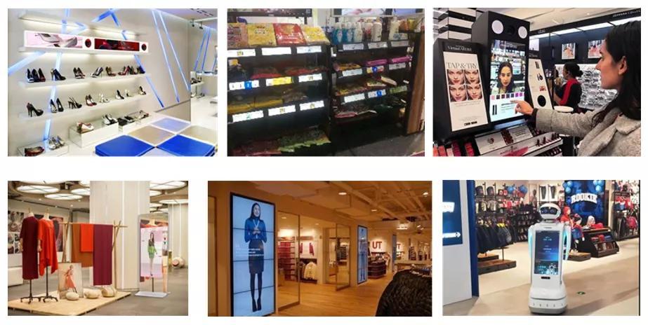未来销售模式发生变化,线下体验为主,各类商用显示助